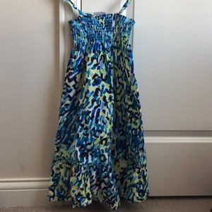 🔷Hanna Andersson Girls Cheetah Print Dress Sz: 8